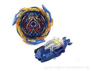 BALALALA Beyblade Burst Turbo Set Gyro Burst Kreisel Set 4D Bayblade Spielzeug Geschenk + Launcher Mit Box Set
