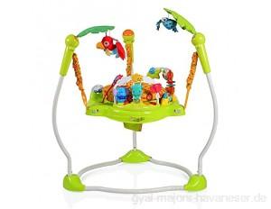 Baby Hopser Jungle 2 in 1 ab 6 Monate mit Spielcenter Musik- und Lichteffekte