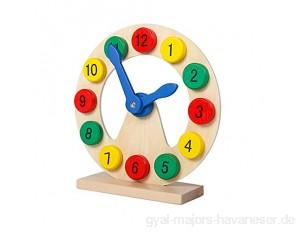 KLgeri Intelligenz für Kleinkinder frühe Bildung Lernspielzeug Zeiterkennung Baby-Kippuhr