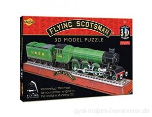 Cheatwell Games 3D Puzzle Flying Scotsman Lokomotive
