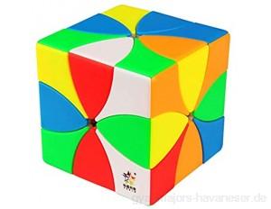 XuBa 6 Fluoreszierende Farben magnetisch 8 Blätter magischer Würfel für Kinder