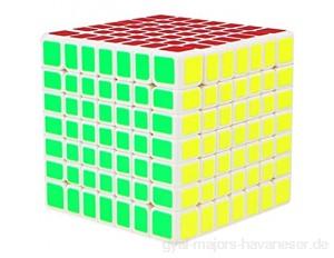 HXGL-Würfel Geschwindigkeits-Würfel Magic Cube 7x7 Cube Sequential Rätsel Geschenk Fidget Finger Toy Denkaufgabe Professionelle Verschleißfeste Durable for Erwachsene Kid Studentenwettbewerb