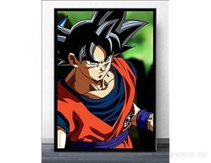 AJleil Puzzle 1000 Teile Dragon Ball Goku Japanischer Anime Manga Ultra Instinct Art Painting Puzzle 1000 Teile New York Familienspiel für Kinder Erwachsene50x75cm(20x30inch)