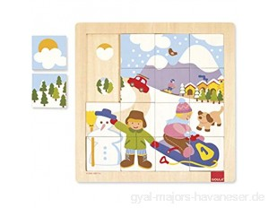 Jumbo D53088 - Holzpuzzle Winter 16 Teile