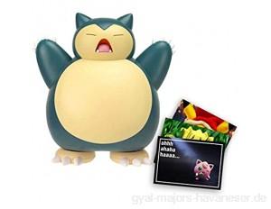 Lively Moments Pokemon Battle Pack Actionfigur & Funktion Spielfigur / Sammelfigur Movie Erweiterung Relaxo / Snorlax + Exklusive GRATIS Grußkarte