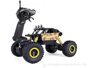 BHJH7 2 4 GHz Geländewagen 25 km/h Hochgeschwindigkeits-Monstertruck 1:18 Elektrokletterer RC Car 4WD Unlimited Terrain Fernbedienung Monster Buggy Indoor- und Outdoor-Spiele