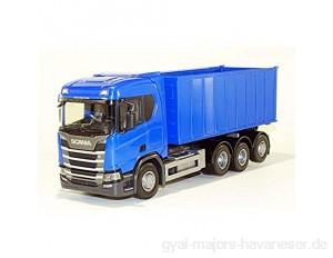 EMEK Scania R 8x4 Abrollmulde Gross 38cm 1:25 ScaleName 1:25
