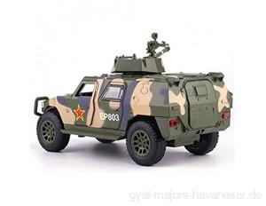 ZhaoXH Simulation Legierung Gepanzertes Fahrzeug Panzer Militärwagenmodell Aus Metalldruckguss Spielset Fahrzeuge mit Sound & Light für Jungen Kleinkinder Auto-Spielwaren-Geschenke (Color : Green)