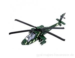"""YIJIAOYUN 11 2 """"zurückziehen Militärhubschrauber Spielzeug mit Lichtern und Sound Armee Flugzeug für Kinder Kinder"""