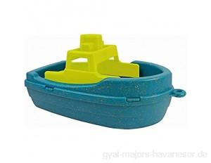 Anbac 70065 Toys-Motorboot (blau/gelb) Multi Color