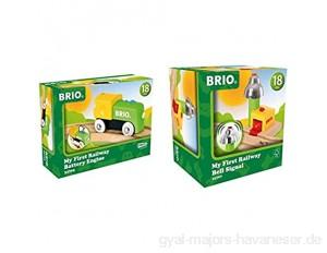 BRIO Bahn 33705 - Mein erste Batterielok & Bahn 33707 - Mein erstes Glockensignal