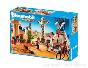 Playmobil 5247 - Indianercamp mit Totempfahl