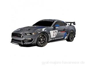 Mondo Motors – Global Mustang GT4 – Modell im Maßstab 1:28 – bis 10 km/h Geschwindigkeit – Spielzeugauto für Kinder – 63544
