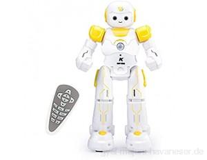 Intelligente RC Roboter Spielzeug Weihnachten Geburtstagsgeschenk Fernbedienung Gestensteuerung Roboter mit intellektuellen Programmieren Singen und Tanzen Multifunktionale wiederaufladbare Roboter