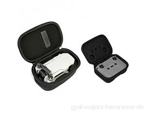 Hensych tragbar Tragetasche Schutz Aufbewahrungstasche für Mavic Mini 2 Drone Wasserdicht Tragen Reise Fall Aufbewahrungstasche für Drone Body Fernbedienung Zubehör、