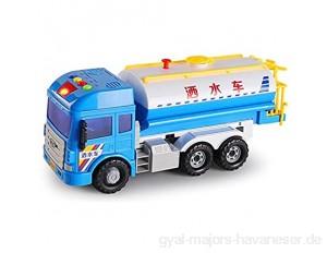 ZhaoXH-Airplane Toy Sprinkler LKW Kann Wasser Friction Powered Stadtreinigung Lichter und Klänge Spielzeug Auto-Modell for Kinder Geschenke Junge Mädchen 3 4 5 Jahre Alt Spray (Color : Blue)